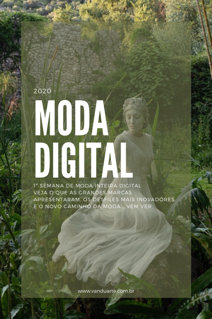 primeira semana de moda digital. convite para ver o post no blog